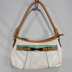 Rosetti purse handbag white Mint green